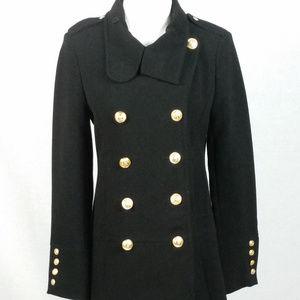 Forever 21 Military Black Coat